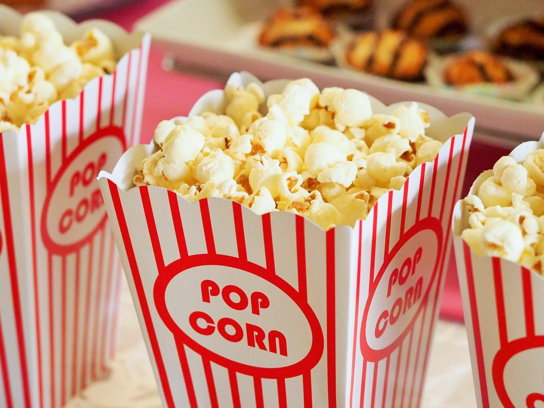 food snack popcorn movie theater